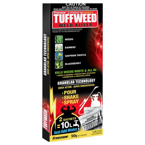 Tuffweed Weed Killer Exact Dose