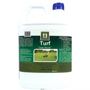 Turf Triple Boost Liquid Fertiliser Concentrate 5 Litre