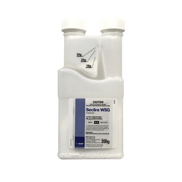 Seclira odour free insecticide non staining